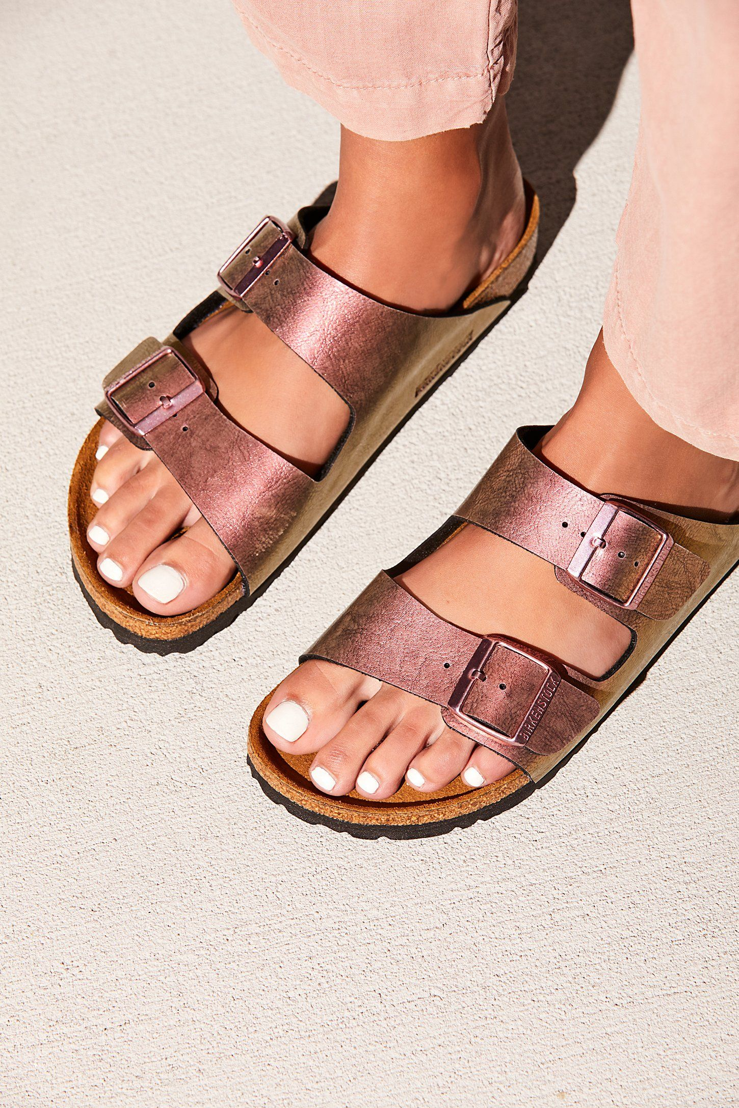 22d9ac3c9b06 Arizona Metallic Birkenstocks