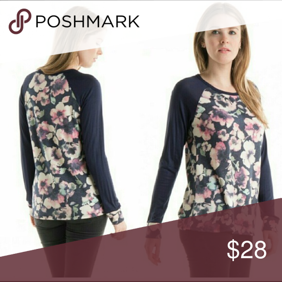 Floral Blouse Beautiful floral Blouse 💕 super soft and cozy, lightweight and perfect for spring! Hands low enough to wear with leggings. Size fits as expected (mannequin is a size 4 and wearing a medium) Tops Blouses