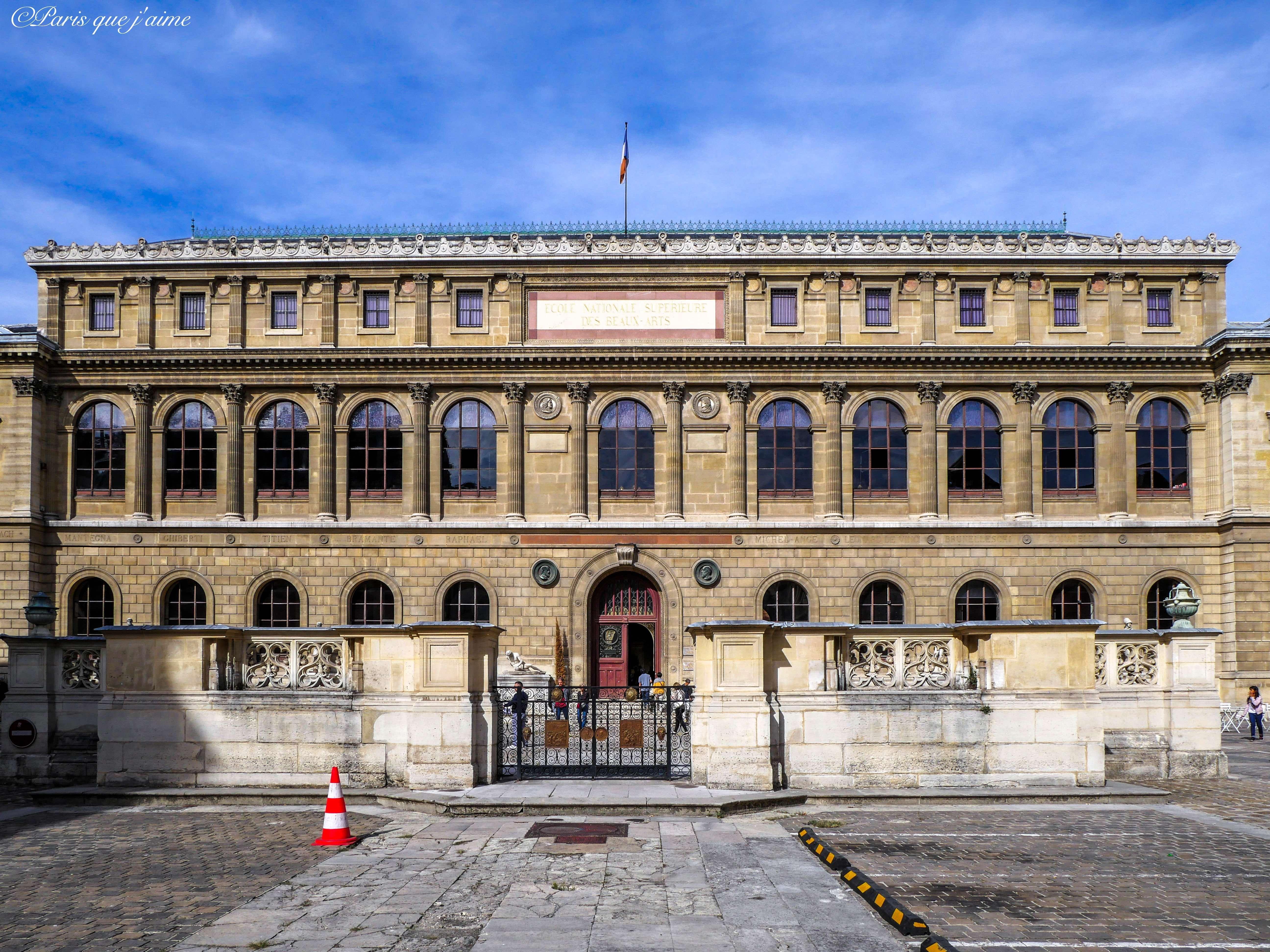 L Ecole Des Beaux Arts 14 Rue Bonaparte 75006 Paris Avec Images