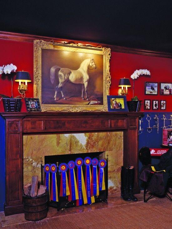 Tack Room Design Ideas Part - 49: Room · Equestrian Decor Design ...