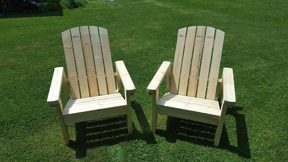 Recycelte Paletten Adirondack Stühle #recyceltepaletten Recycelte Paletten Adirondack Stühle - Diy Paletten Adirondack Stühlen, #recyceltepaletten