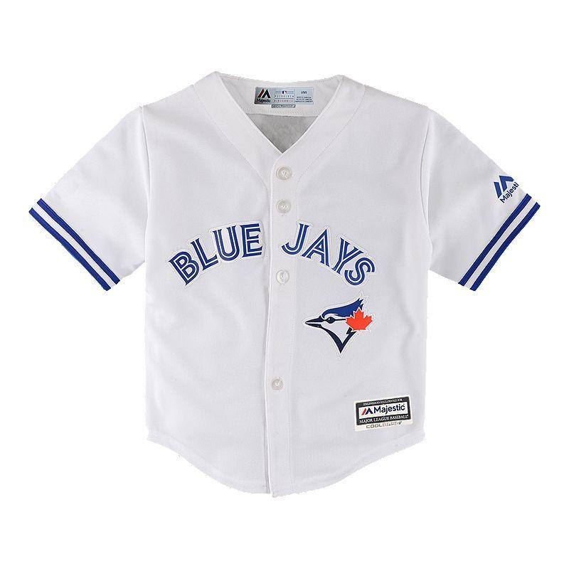 premium selection a7e12 9ccfd Toronto Blue Jays Baby Replica Cool Base Home Baseball ...
