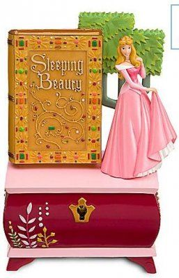 Sleeping Beauty and story book jewelry box Disney Princess and