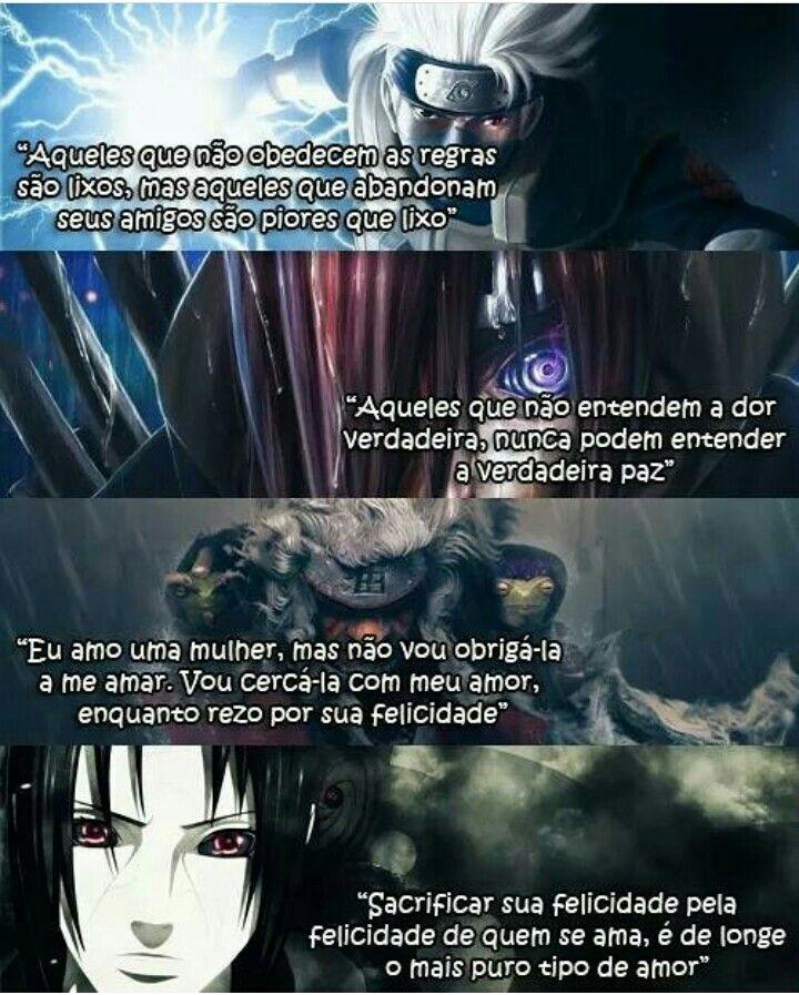 Frases Marcantes De Naruto Naruto