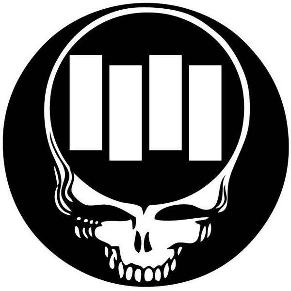 Grateful Dead Logo Black Clipart Library