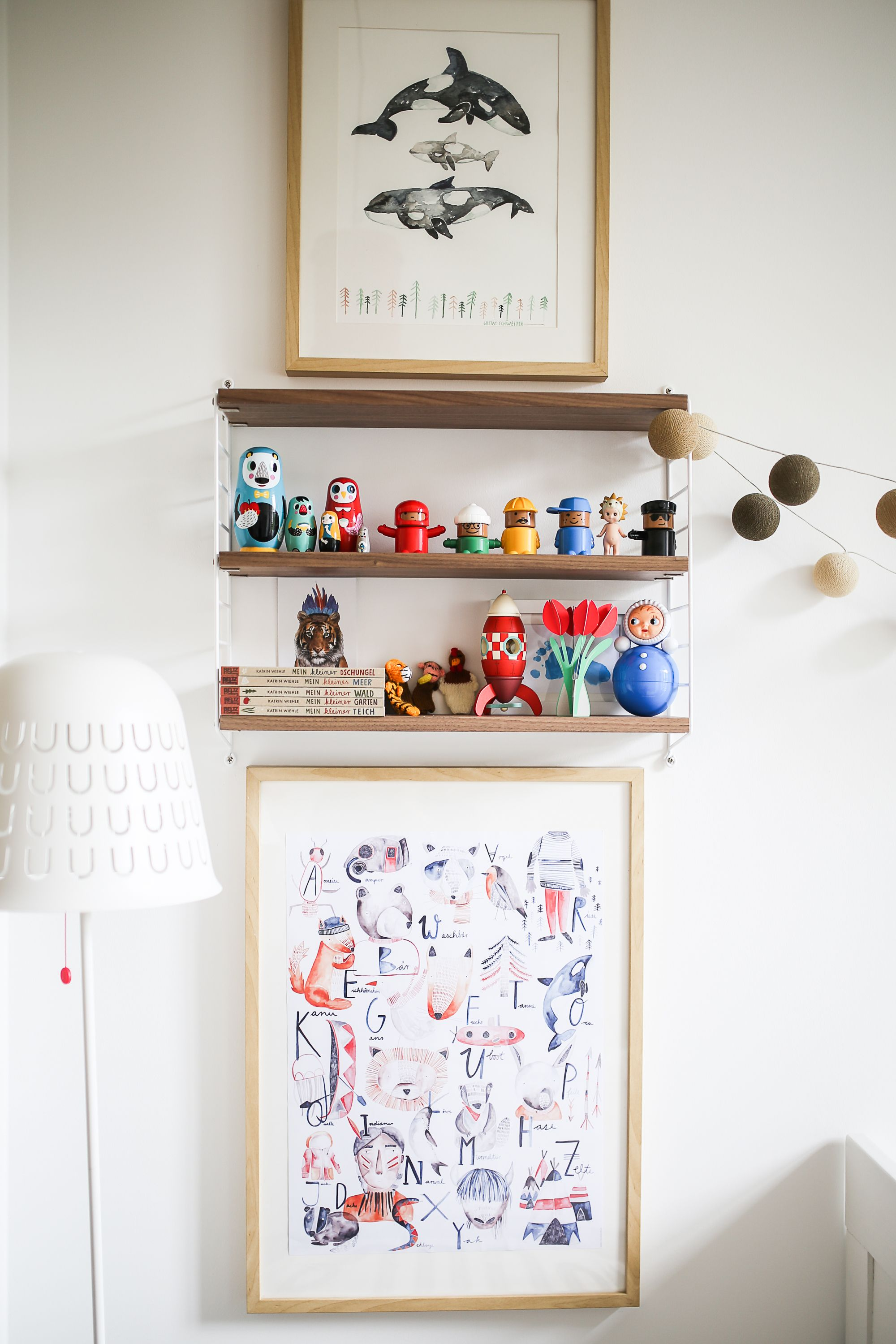 Friedrichs neues Kinderzimmer | Kids rooms, String pocket and Ikea ps