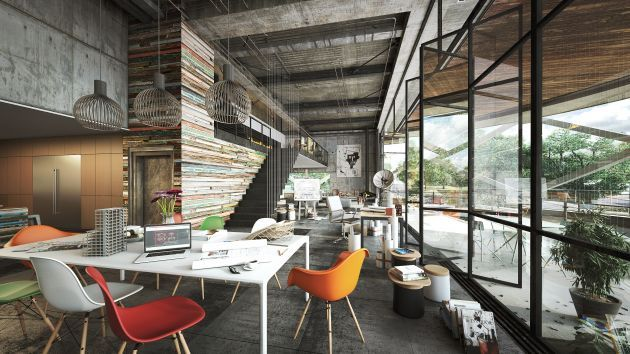 CGarchitect - Professional 3D Architectural Visualization User Community | Contemporary Home Office