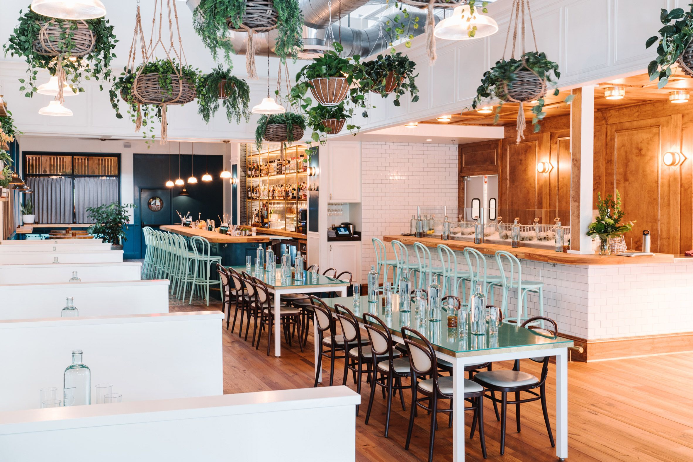Square Feet Studio Opts For Spare Nautical Interior At Atlanta Oyster Bar American Firm