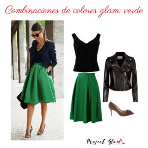 Combinaciones Con Colores Glam Verde Project Glam Combinaciones De Colores De Moda Combinacion Colores Ropa Color De Moda