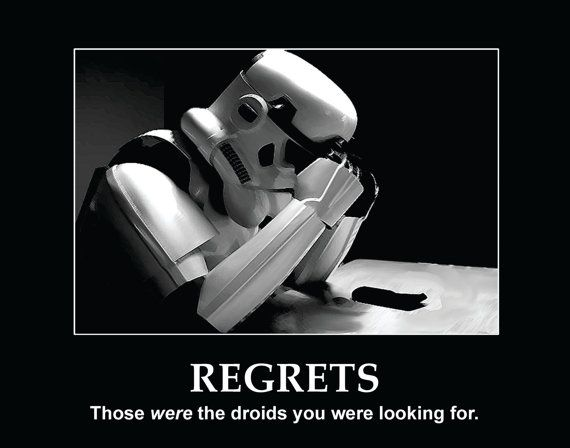 Image result for those were the droids i was looking for