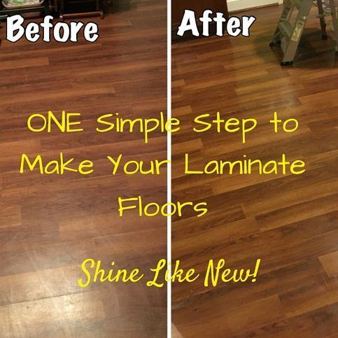 Laminate Floors Make Them Shine Again Easy Diy Step To Make