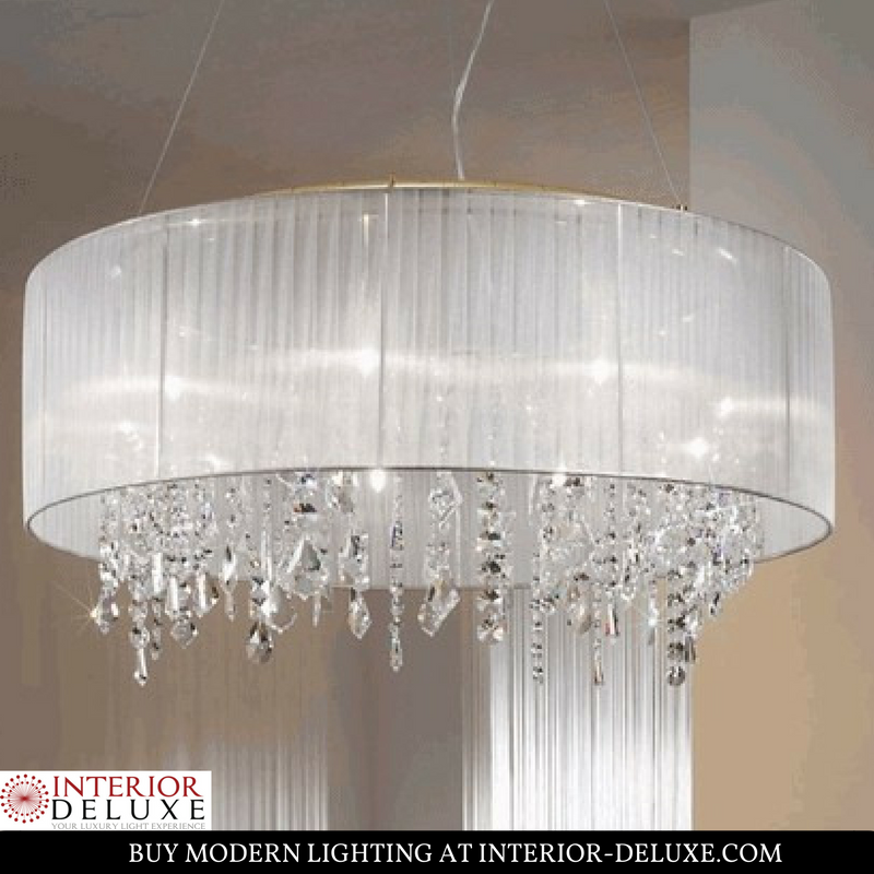 The paralume ceiling lamp is a luxury path for any modern interior shop online