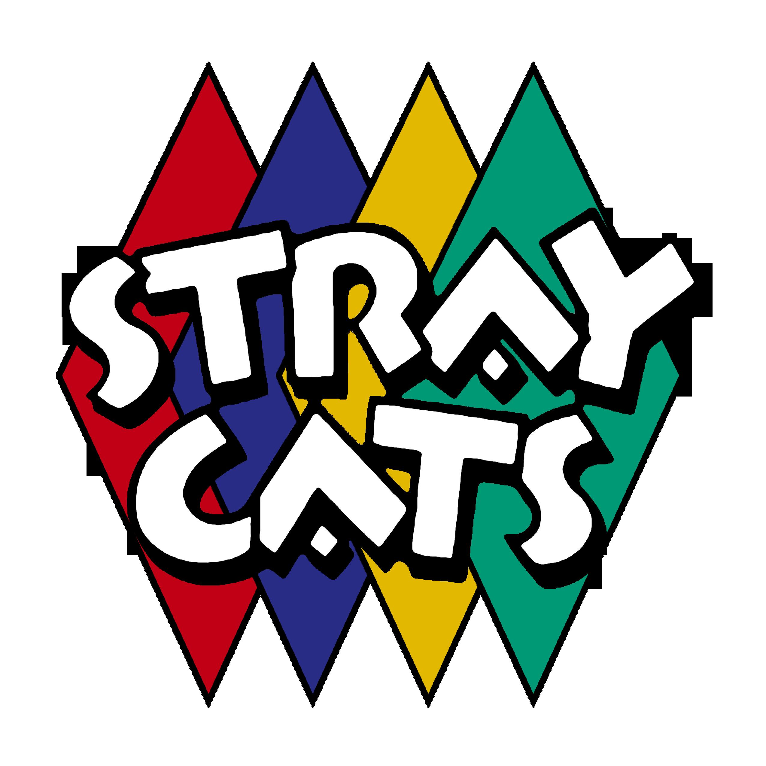 rockabilly stray cats vintage band logo 1980s rock n roll my rh pinterest com Metallica Logo Pink Floyd Logo