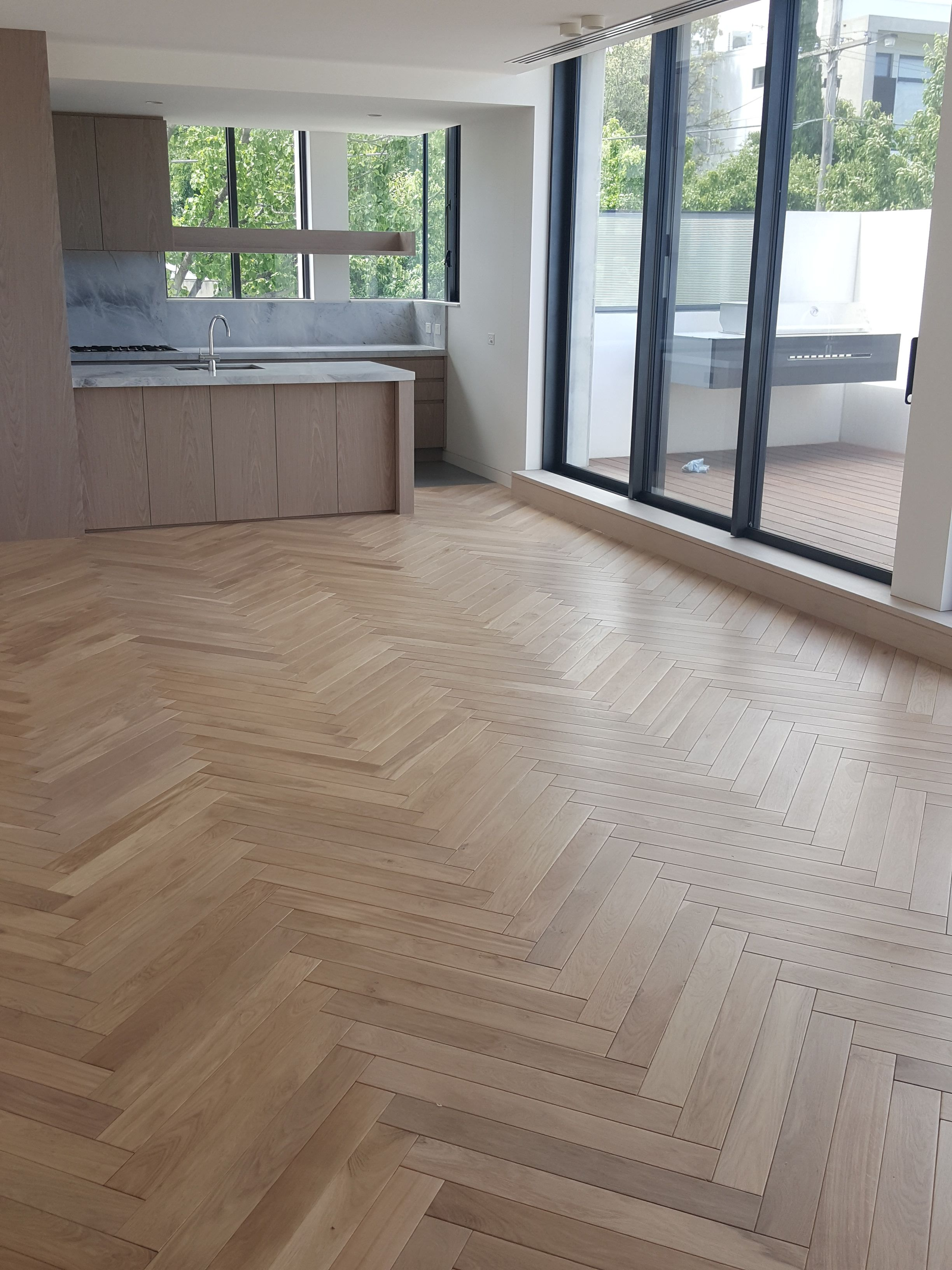 Beautiful Herringbone Parquet In Toorak