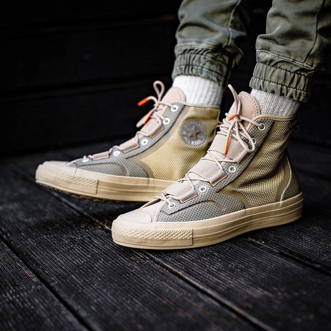 converse chuck 70 hiker leather nylon