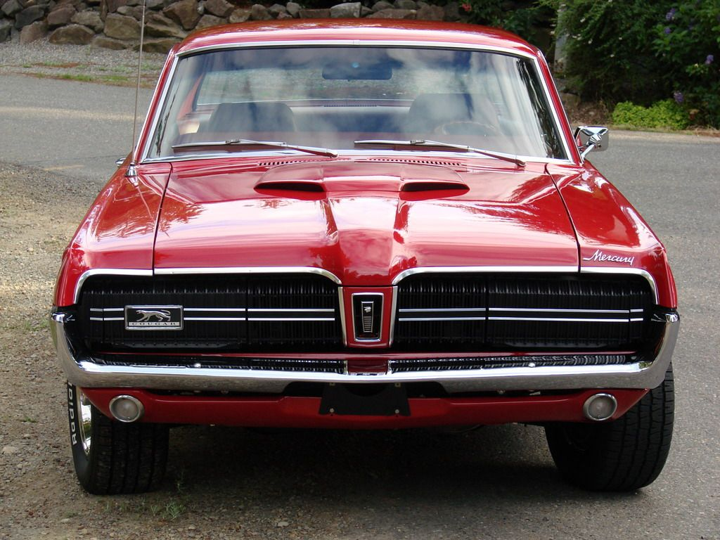 67 cougar xr7 i d love to have one in matte