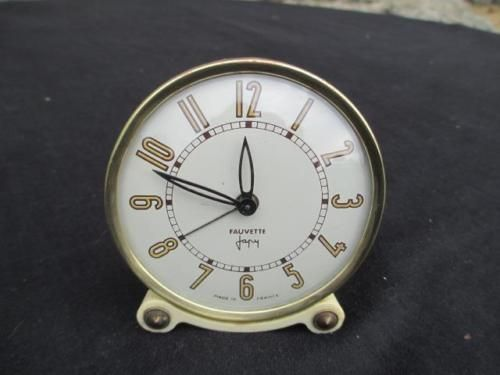 Vintage #french  japy  fauvette  #alarm #clock 1930s.,  View more on the LINK: http://www.zeppy.io/product/gb/2/321886619495/
