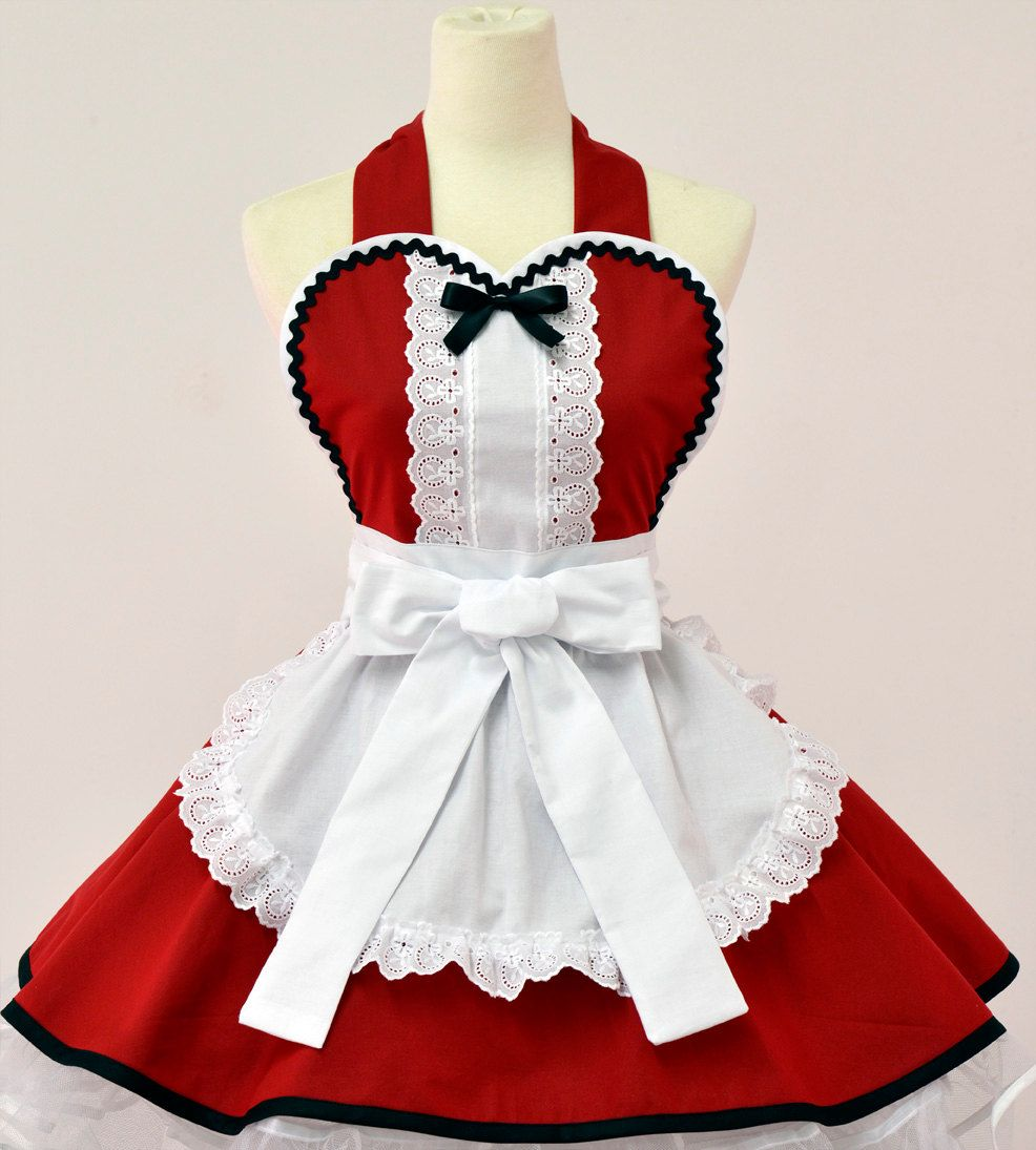 White apron alice in wonderland - Alice In Wonderland Christmas Apron Etsy
