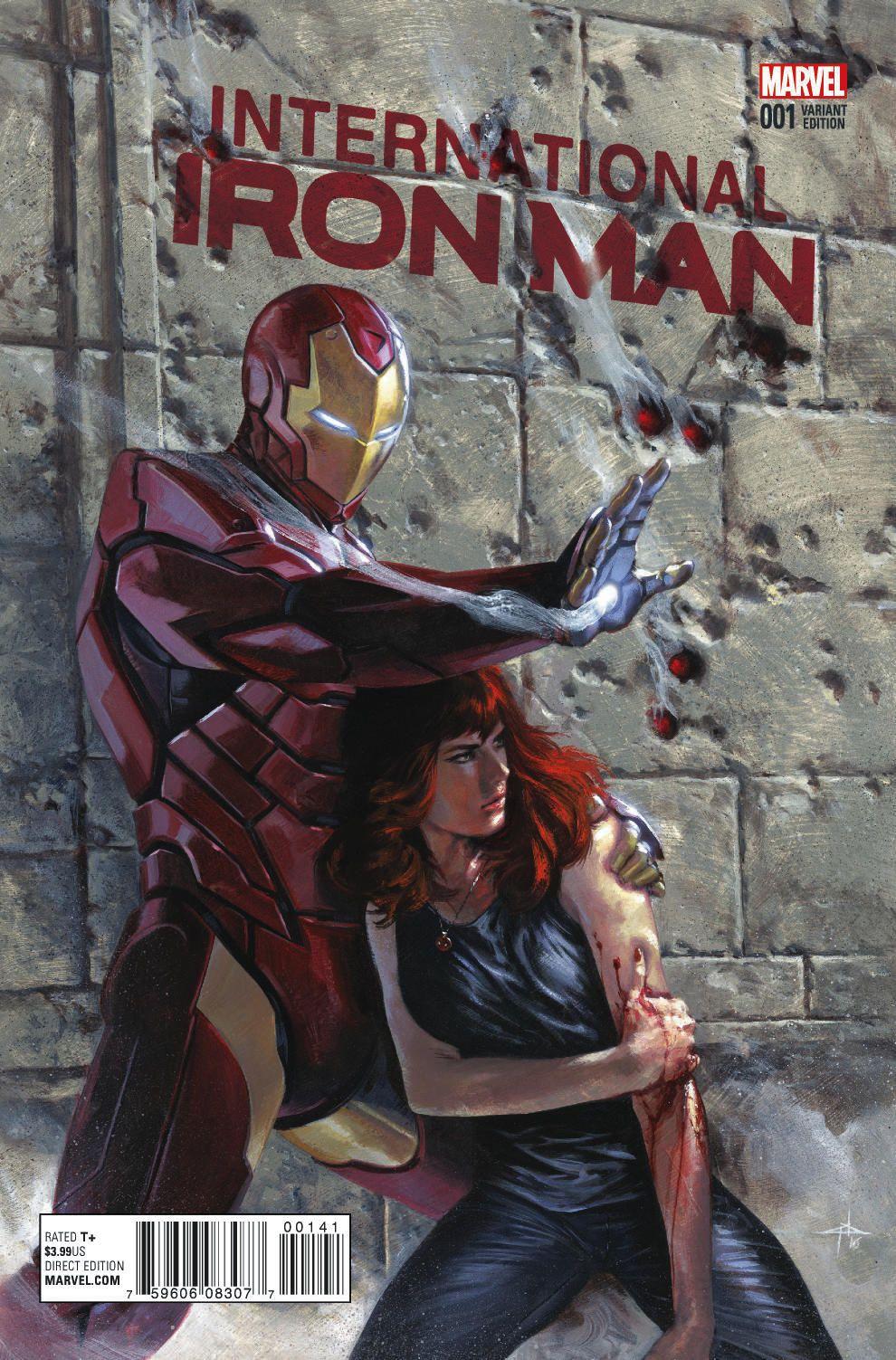First Look: International Iron Man #1 - Bounding Into Comics
