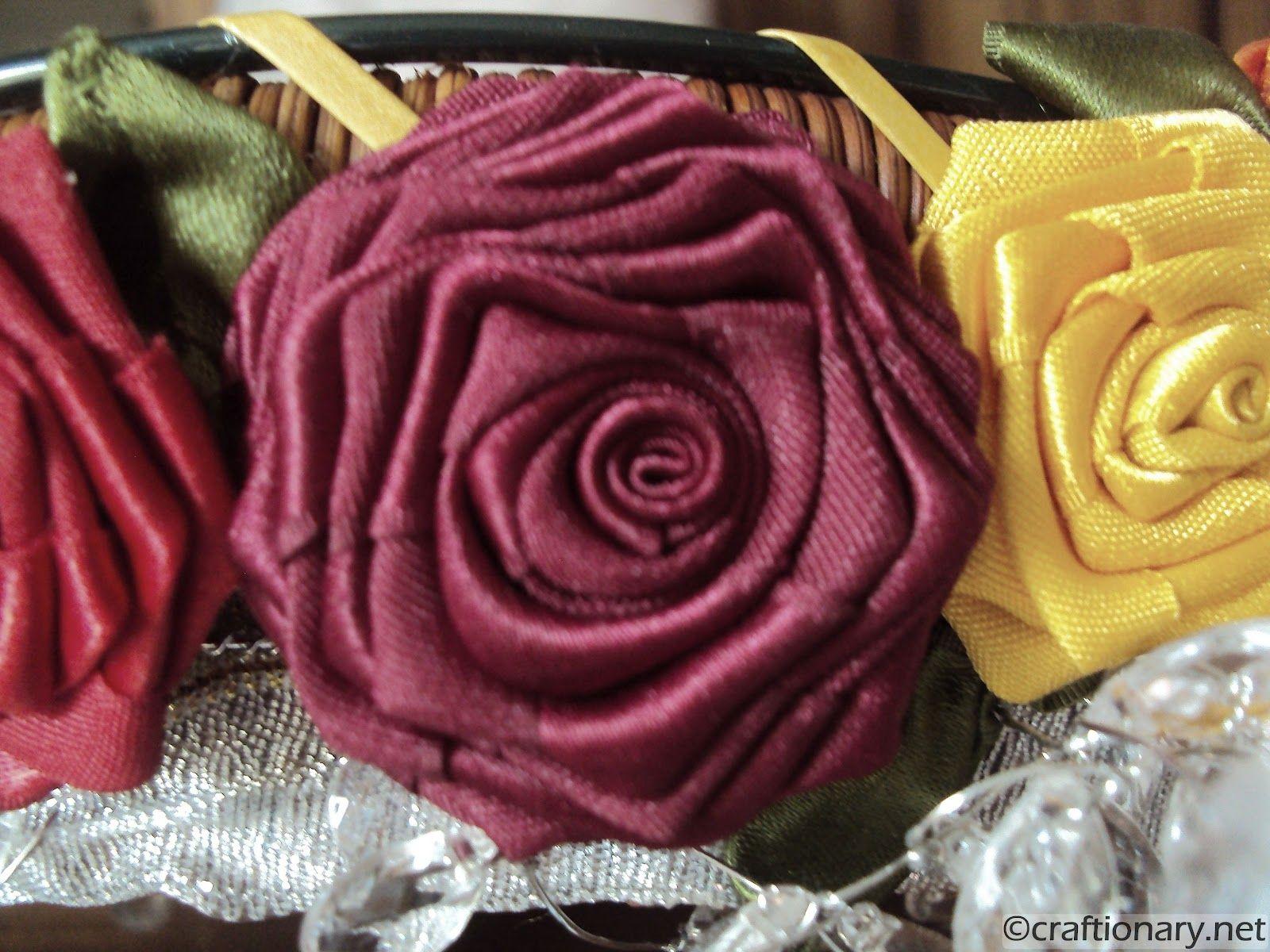 Ribbon Flowers Tutorial Make Flowers Ribbon Flower Tutorial