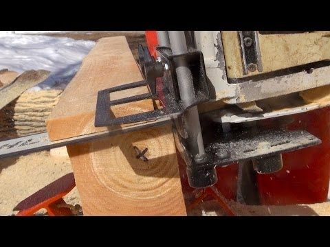 Logosol Timberjig Review 3 5 Chainsaw Milling Pine Youtube Wood Crafts Milling Chainsaw Mill