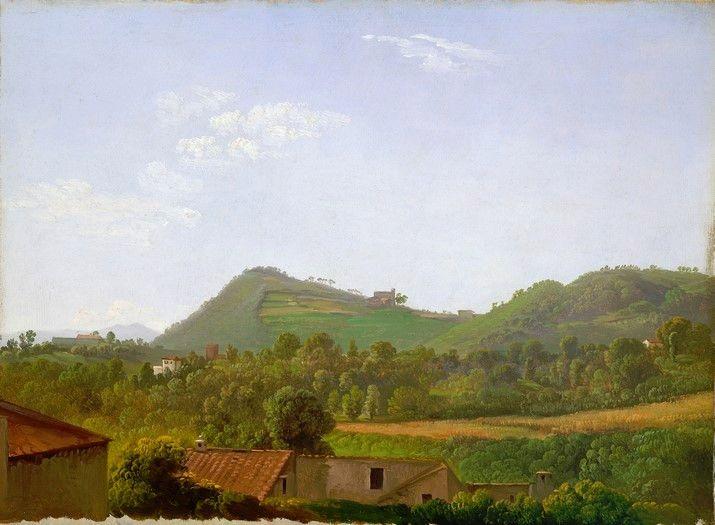 new to site Simon Denis View near Naples c. 1806 Painting
