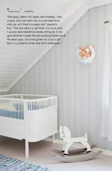 attic nursery scandinavian style
