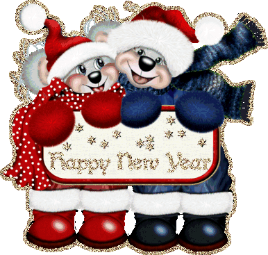 happy new year animated cards | Clip Art | Pinterest | Warm, New ...