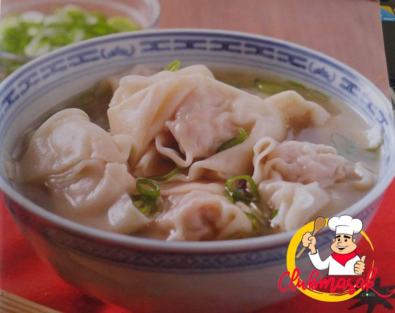 Masakan China Kuno Resep Wonton Soup Club Masak Masakan China Kuno Pinterest Menu