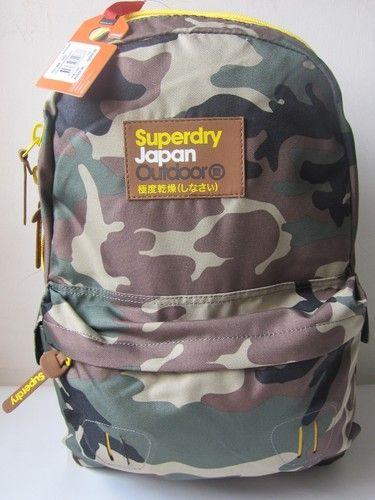 Superdry True Montana Backpack Travel School Rucksack Bag ARMY ... : quilted montana rucksack - Adamdwight.com
