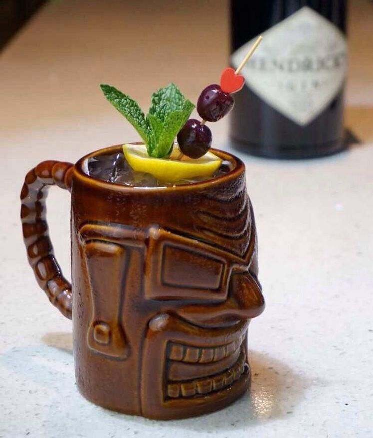 Olmec Handle Mug