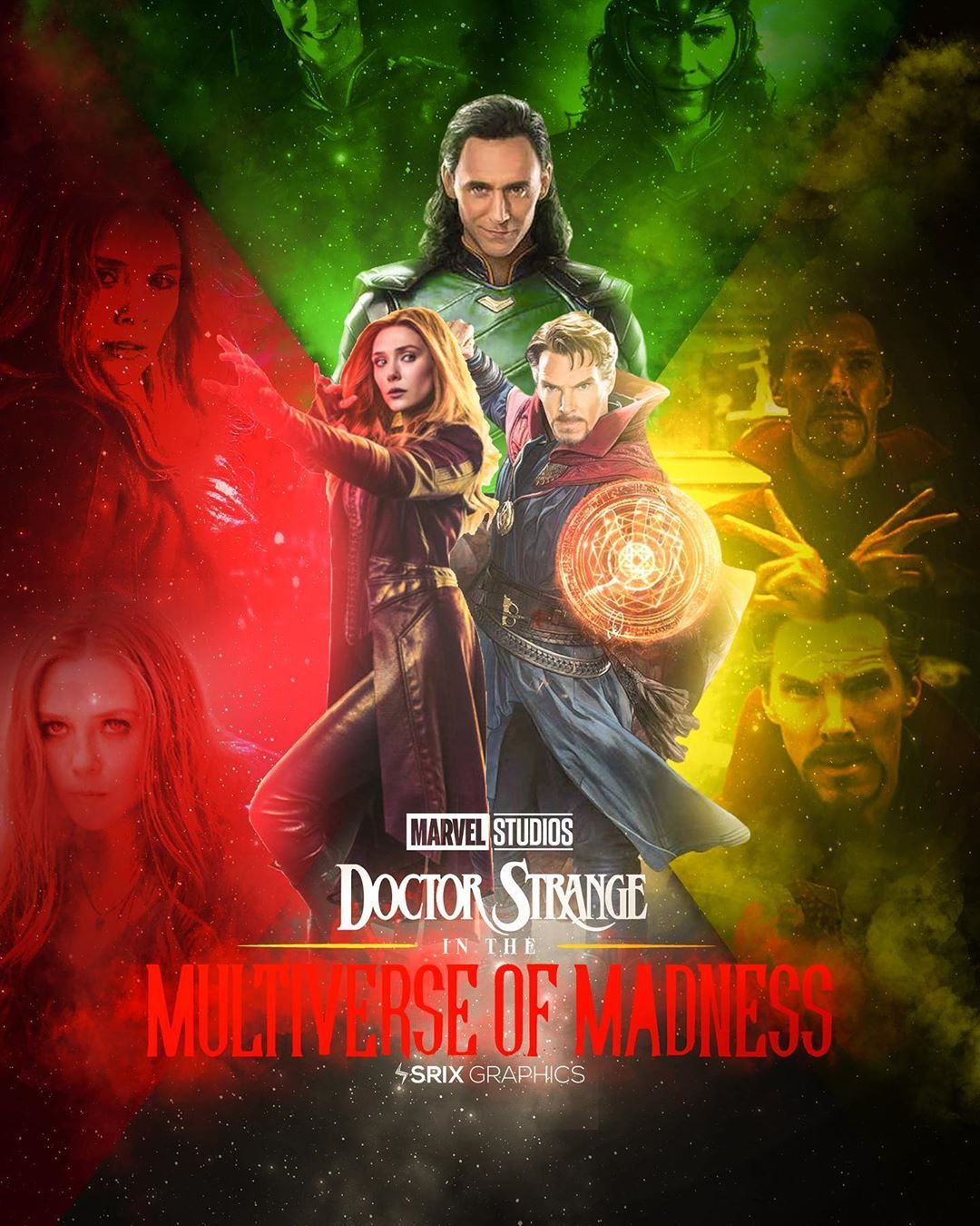 Srix Graphics C On Instagram Doctor Strange Multiverse Of Madness Our 2021 Can T Wait For These Three To Meet Up Comicbook Marvel M Marvel Filme Bilder