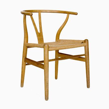 Mid-Century CH24 Wishbone Stuhl von Hans J Wegner für Carl Hansen - stühle für die küche
