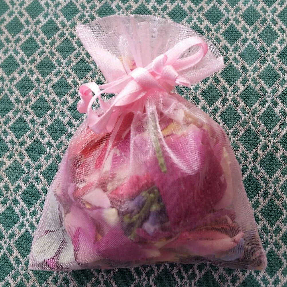 Rose Petals/Sachet Bags/Bath Tea/Rose, Lavender, Jasmine, Hibiscus ...
