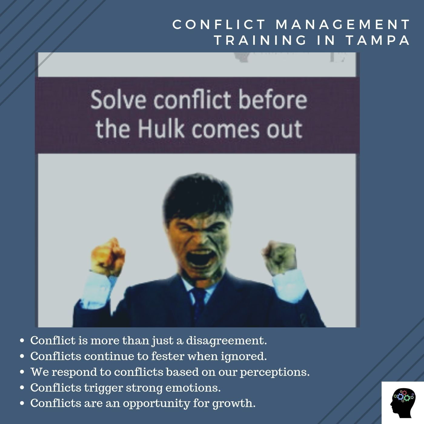 Solve Conflict Before The Inner Hulk Comes Out Consult