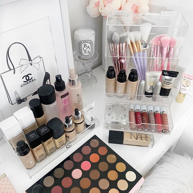 Pin on Beauty Room and Makeup Storage