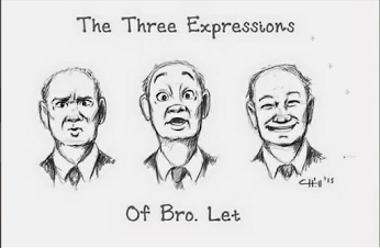 The many expressions of a brother we all love, Brother