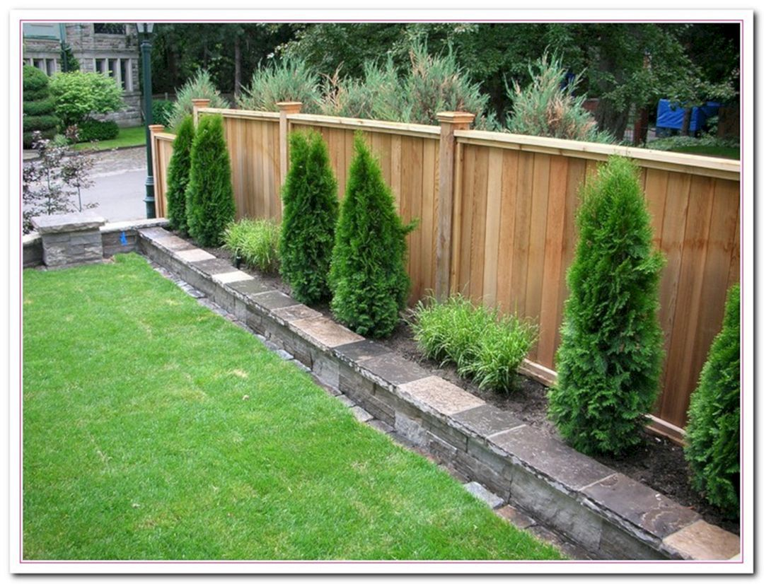 Great Idea 25 Simple Way To Decor Your Backyard With Small Garden Fence Ideas Https