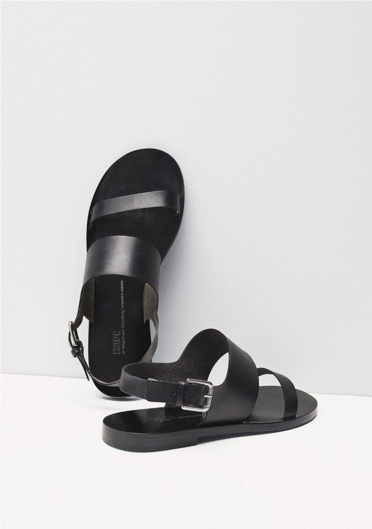 Black boot sandals - Mira Sandal Black Shoes Boots Shop Woman Hope Sthlm