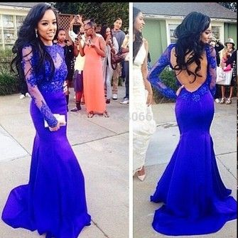 dress long sleeves long sleeve dress prom dress lace prom blue lace dress long