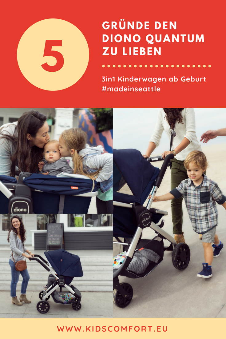An honest review on the Diono Quantum classic stroller