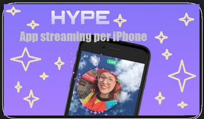 UNIVERSO NOKIA: App streaming alternativa a Vine: Hype per iPhone