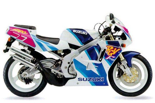 Top 10 Sports Bikes From The 90s 04 Suzuki Rgv250 Sports Bikes Motorcycles Suzuki Sport Bikes