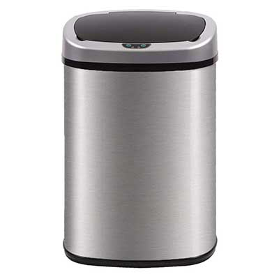 Top 10 Best Trash Cans In 2020 Reviews Kitchen Trash Cans Bathroom Trash Can Trash Can