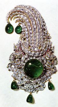 Pin, Iran (Paisley shaped jewel)