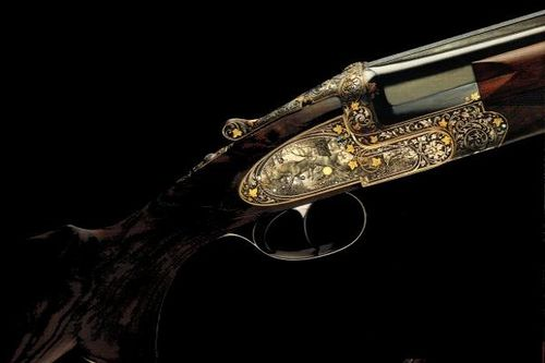 The engraving #art by Lebeau-Courally #luxury #shotgun #hunting #Lebeau-courally #belgium