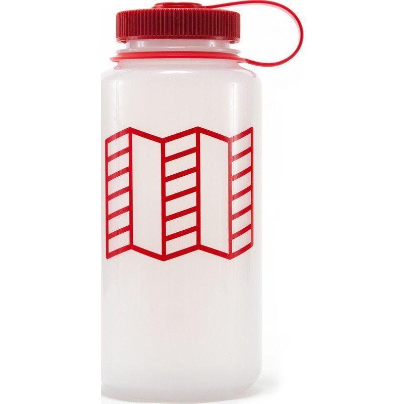 Clear//Red XLab Aqua Shot Race Water Bottle