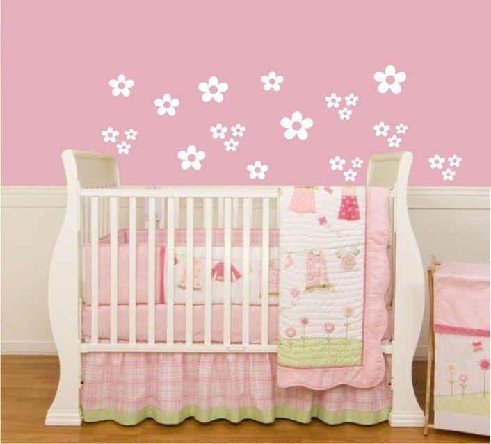 Decoração de Quartos de Bebe com Papel de Parede  Quartos e Bebê