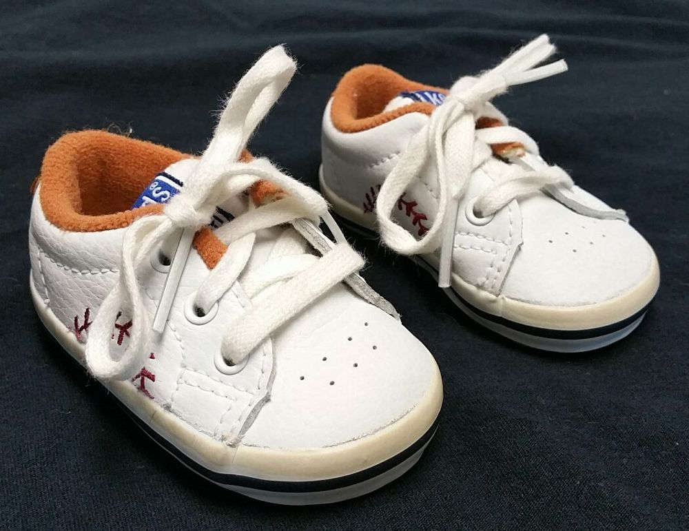 93a428ffc3d Keds 1992 Baseball Stitch Sneakers Shoes Infant Baby Size 1