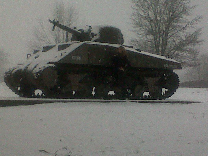 Fort Knox in the snow